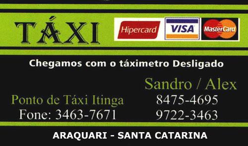 Taxi Araquari