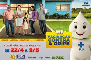ampanha contra a gripe pretende vacinar mais de 5 mil pessoas  em Araquari