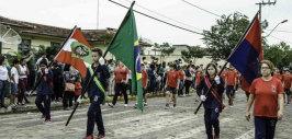Araquari realiza desfile cívico em comemoração ao dia da Independência do Brasil